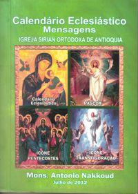 calendário eclesiástico