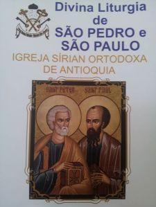 Liturgia de São Pedro e São Paulo