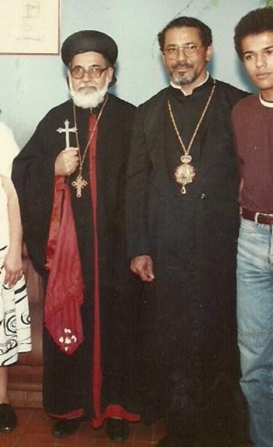 Mor Crisóstomos Moussa Matanos Salama Igreja Sirian Ortodoxa de Antioquia Brasil Siriana Dom 9