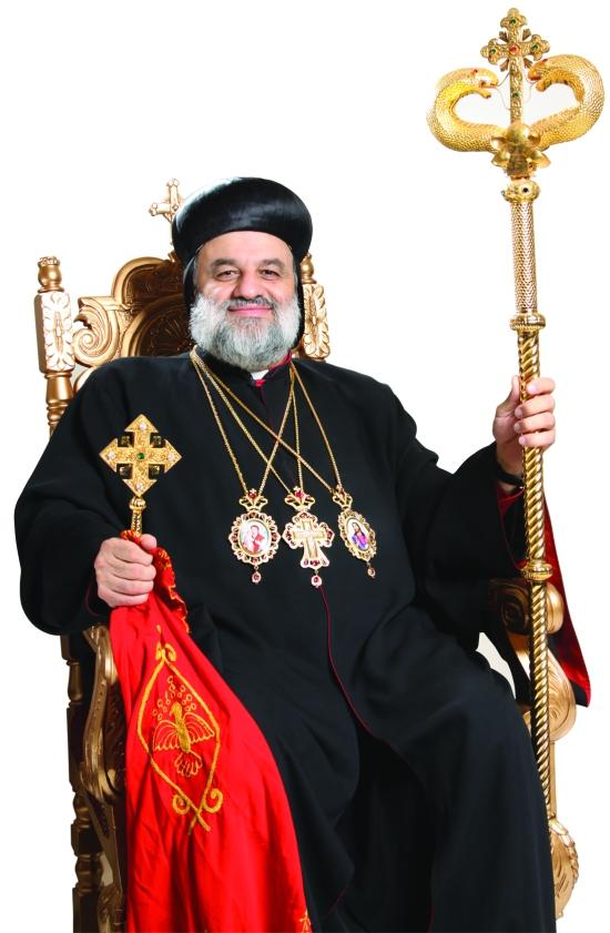 Moran Mor Inácio Efrém II Karim patriarca sirian ortodoxo de antioquia siríaco igreja 3