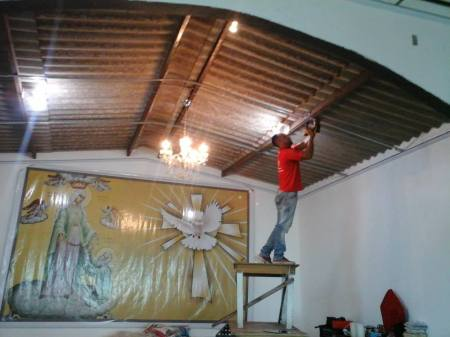 forro igreja nossa senhora santo cinto brasília padre flávio