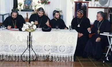 reunião com representantes patriarcais